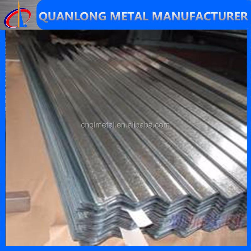 Zinc galvanized corrugated metal laminate sheet buy zinc for Zinc laminate
