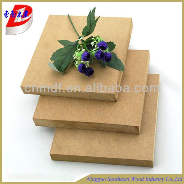 1220*2440*12mm ham mdf dekoratif duvar panelleri