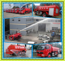 ISO 9001 stanadard Good Quality Dongfeng XBW Water tank fire truck 4X2 MINI fire fighting truck working height 50mters for sale