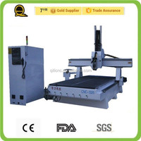 4 axis cnc woodworking machine workshop supply high quality hot sale servo motor multi cnc router