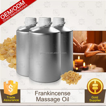 natural massage oil ingredient 100% pure natural frankincense essential oil