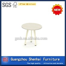 white round coffee table modern simple dinning table design