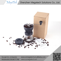 coffee grinder for sale and 2 cups coffee syphon 240ml for manual coffee grinder