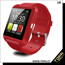 fitness tracker u8 bluetooth smart wrist watch phone with o.s android 4.2