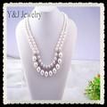 2015 últimas diseñado joyería de perlas collar de venta al por mayor