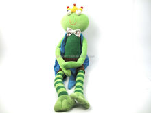 2015 cute frog plush toy for girl