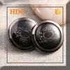 Classic design trendy coat custom clothing buttons