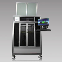 digital large format dual extruder 3d metal printer with with LED display