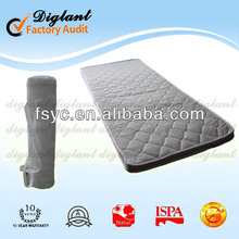 Good quality hote sale design rollable memory foam baby mattress #F3-N5#