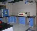 Equipamentos de laboratório químico mesa de canto/banco contra a parede