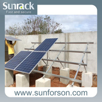 Solar Power Ground Mounting System for PV Installation