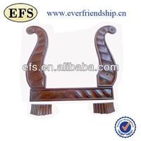 Expensive classic wood frame 3 seater sofa frame(EFS-SR-9030)