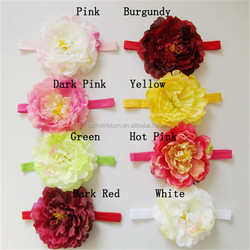 Bottom price hot sell infant headbands with flowers