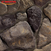 2015 new arrival exterior decoration light weight faux stone siding
