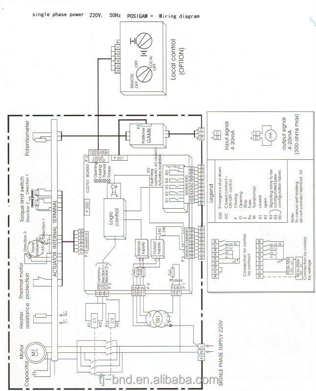 oa15 actuador el u00e9ctrico  bernard de cuarto de vuelta actuador de la v u00e1lvula hecho en china
