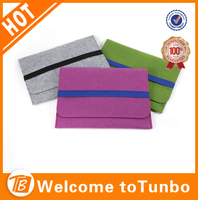 Colorful eco-friendly felt cases for tablets/tablet case for kids