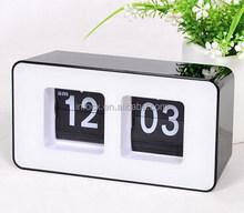 Good design auto flip table clock/flip calendar clock