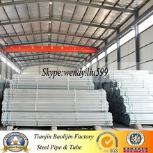 Made in china precision hot dip galvanized hollow section pipe