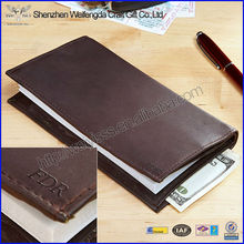 High Quality Genuine Leather Checkbook Cover For Men