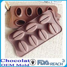 MFG Various shape silicone chocolate molds microwave oven cake pan