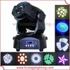 Hot new products for 2015 75w led spot moving head stage light