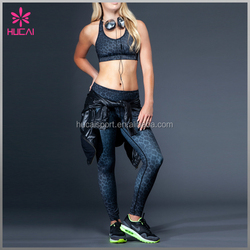 New Beautiful Bra Sexy Bra Design Wholesale Digital Printed Sports Bra Fitness