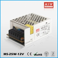 MFW Brand 25W single output power supply led driver 12v 2.1a