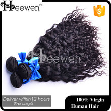 Heewen Charming Water wavy Hair,The Top Quality Hair Weave Black Water Deep Curly