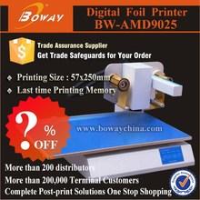?% OFF AMD9025 Promotional hot stamping digital gold foil printer