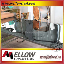 Mellow Pattern Stainless Steel Black Lic Sheet/Plate
