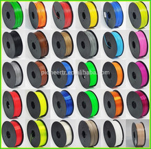 ABS 1.75MM Black abs plastic production 3.0mm 3d printer filament with dimention diameter +/0.05mm