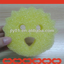 2015 Best cleaning scrubber sponge/various colors shapes