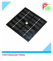 PET laminated 1W 6V 170mA solar panel
