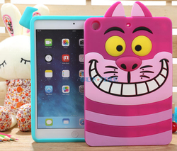 Hot Sale Silicon 7 Inch Cute Tablet Cover For Ipad Mini 1/2
