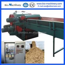 High capacity tree/hard wood chipper/splitter/crusher machine