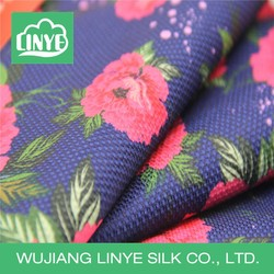 European style interior decorate material, digital printed fabric, window curtain design