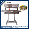horizontal stainless steel continuous band sealer