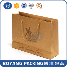 Custom Design Printed Shopping Kraft Paper Bag