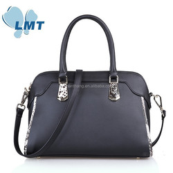 2015 Factory outlet Low MOQ simple style fashion women bags pure leather lady hand bag
