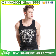 New style men's gym fitness sports t shirt