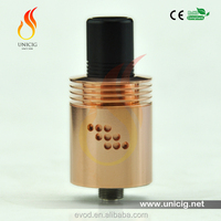 Orignal China manufacturer Unicig Orignal design copper Indulgence mutation X V2 RDA Electronic cigarette