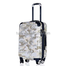 Fashion Hard Trolley Luggage with open bag,ABS+PC High quality,expandable mould