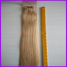 Factory supplier indian remy hair hair weft remy #27/613 good thick hair weaving