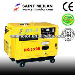 china cheapest price portable small silent diesel generator 6.5kva