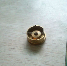 High precision OEM central machinery parts/Brass fitting adapter cnc machining