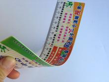 die cut PP/pvc stationary plastic ruler
