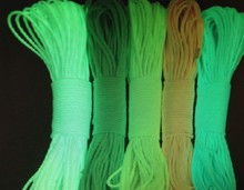 Outdoor activities survival 550 paracord,various color paracord