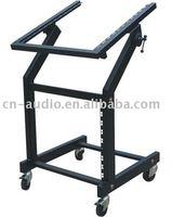 Portable Studio Equipment Mixer Case rack mount Stand RKS002