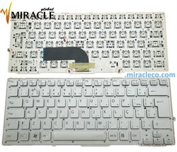 Keyboard for SONY laptop VPC-SD VPC SD SB Silver Brazilian BR