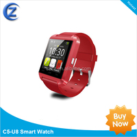 China alibaba 2014 new product wrist watch fashion bluetooth multiple color smart watch for android phone